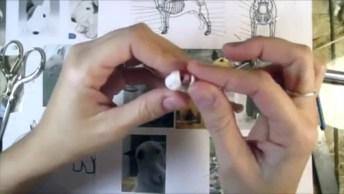 Arte De Fazer Miniaturas De Cães, Olha Só Que Trabalho Fantastico!