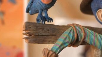 Arte De Fazer Personagens De Desenho Animado, No Vídeo Podemos Apreciar Pinóquio