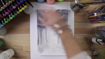 Arte De Transformar Papel E Tinta, Em Uma Imagem Mágica Confira!