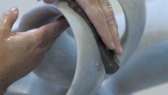 Arte De Transformar Pedra Em Uma Obra De Arte, Simplesmente Maravilhoso!