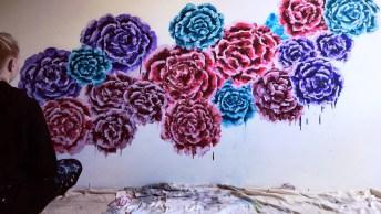 Arte De Transformar Uma Parede Em Uma Verdadeira Obra De Arte!