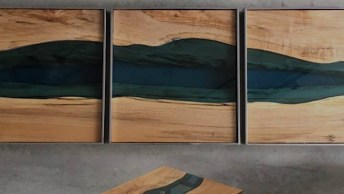 Artes Feitas Com Madeira E Vidro Do Artista Canadense Kyle Miller!
