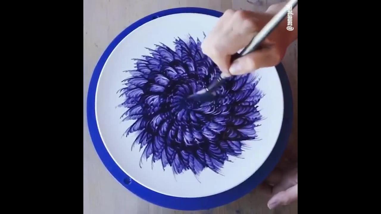 Artes no prato, os resultados são diferentes e lindos