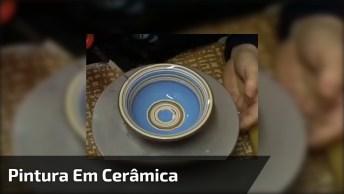 Como É O Processo De Pintura Em Cerâmica, Confira No Vídeo!