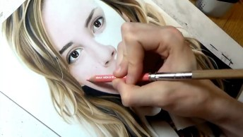 Desenhando Rosto De Uma Pessoa De Forma Perfeita, Vale A Pena Conferir!
