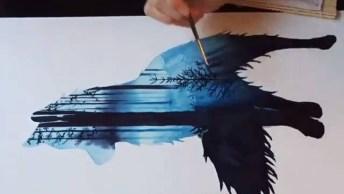 Desenho De Lobo Lindo, Você Vai Ficar Encantado Com Este Vídeo!