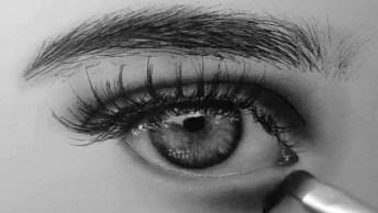 Desenho De Olhos E Sobrancelhas, Olha Só Que Perfeição Este Vídeo!