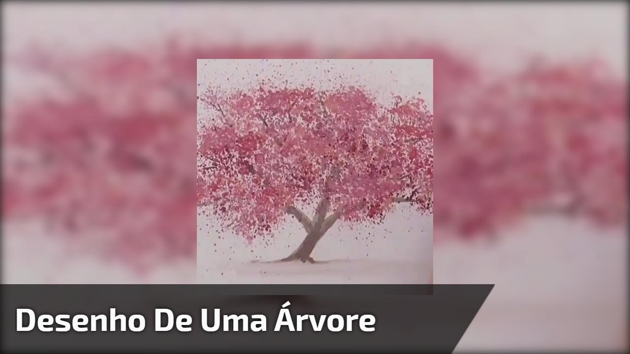 Desenho de uma árvore