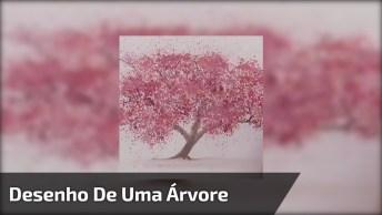 Desenho De Uma Árvore, Mas É Uma Verdadeira Obra De Arte!