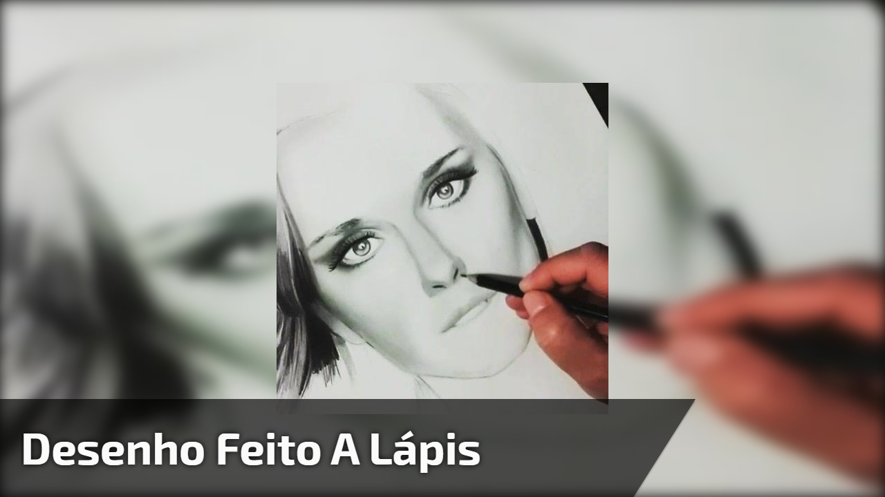 Desenho feito a lápis