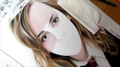 Desenho Feito A Mão Da Personagem De 'Harry Potter' Hermione Granger!
