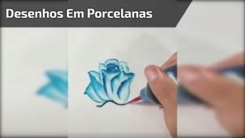 Desenhos Em Porcelanas Que Vão Te Fazer Se Apaixonar, Confira!