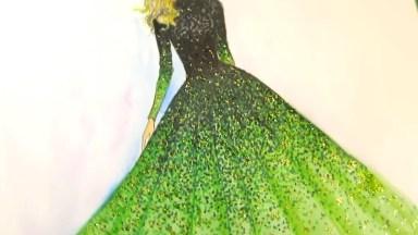 Desenhos Maravilhosos De Vestidos De Festas, Cada Detalhe E Lindo!