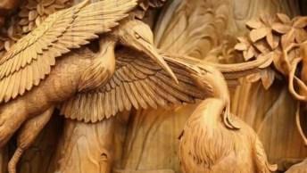 Esculturas Incríveis Feitas De Madeira, Uma Mais Perfeita Que A Outra!