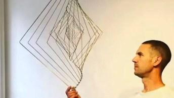 Esculturas Que São Hipnotizantes, Elas Parecem Fazer Mágica Quando São Tocadas!