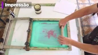 Este Vídeo Vai Te Mostrar O Processo De Como Nasce A Serigrafia!
