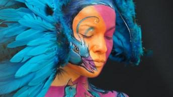 Festival Mundial De Pintura Corporal, Onde As Obras De Artes Estão Nos Corpos!