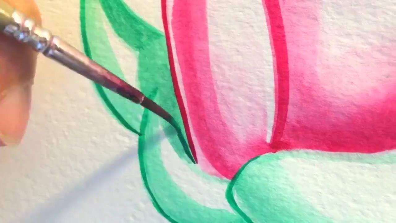 Lindo desenho de flores, mais uma obra de arte para apreciar