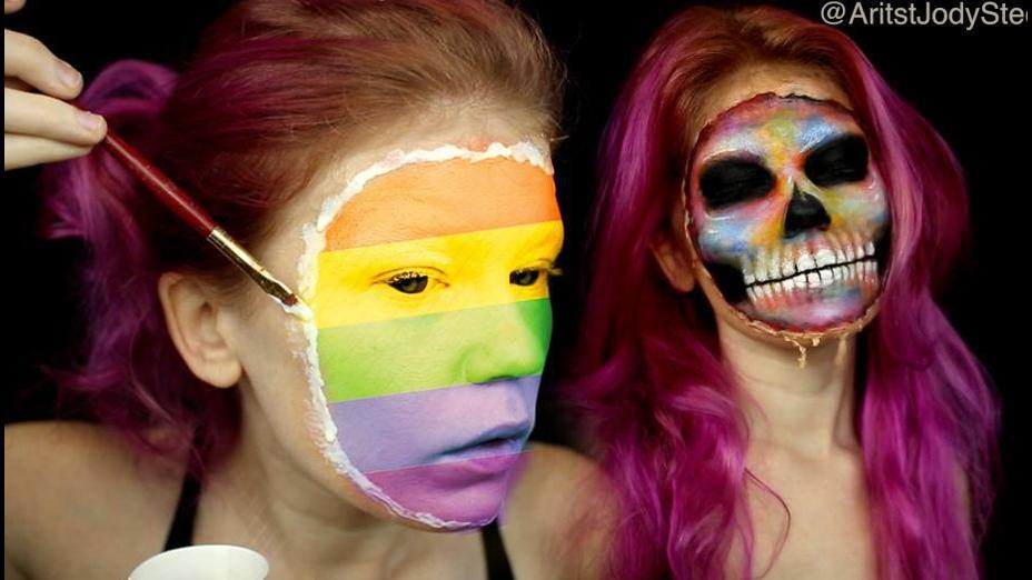 Maquiagem perfeita para Halloween
