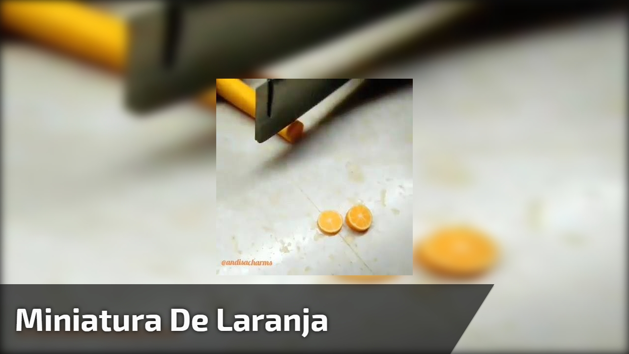 Miniatura de laranja