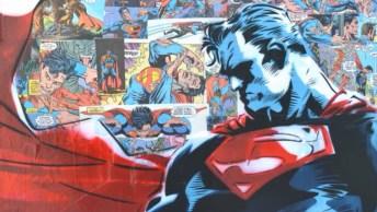 Obra De Arte De Super-Heróis Feito Com Tinta Em Spray, Confira!