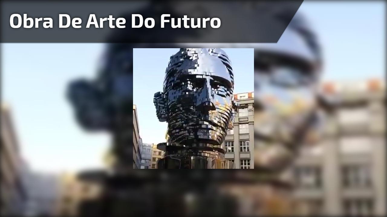 Obra de arte do futuro