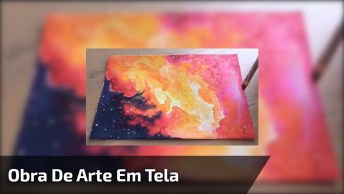 Obra De Arte Em Tela Pequena, O Resultado É Extraordinário!