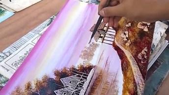 Obra De Arte Na Rua, O Que Esse Artista Faz Impressiona Qualquer Pessoa!