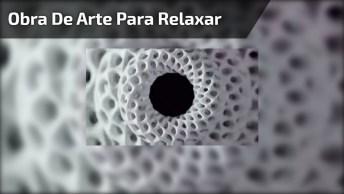Obra De Arte Para Relaxar, Fique Olhando Atentamente Para O Vídeo!