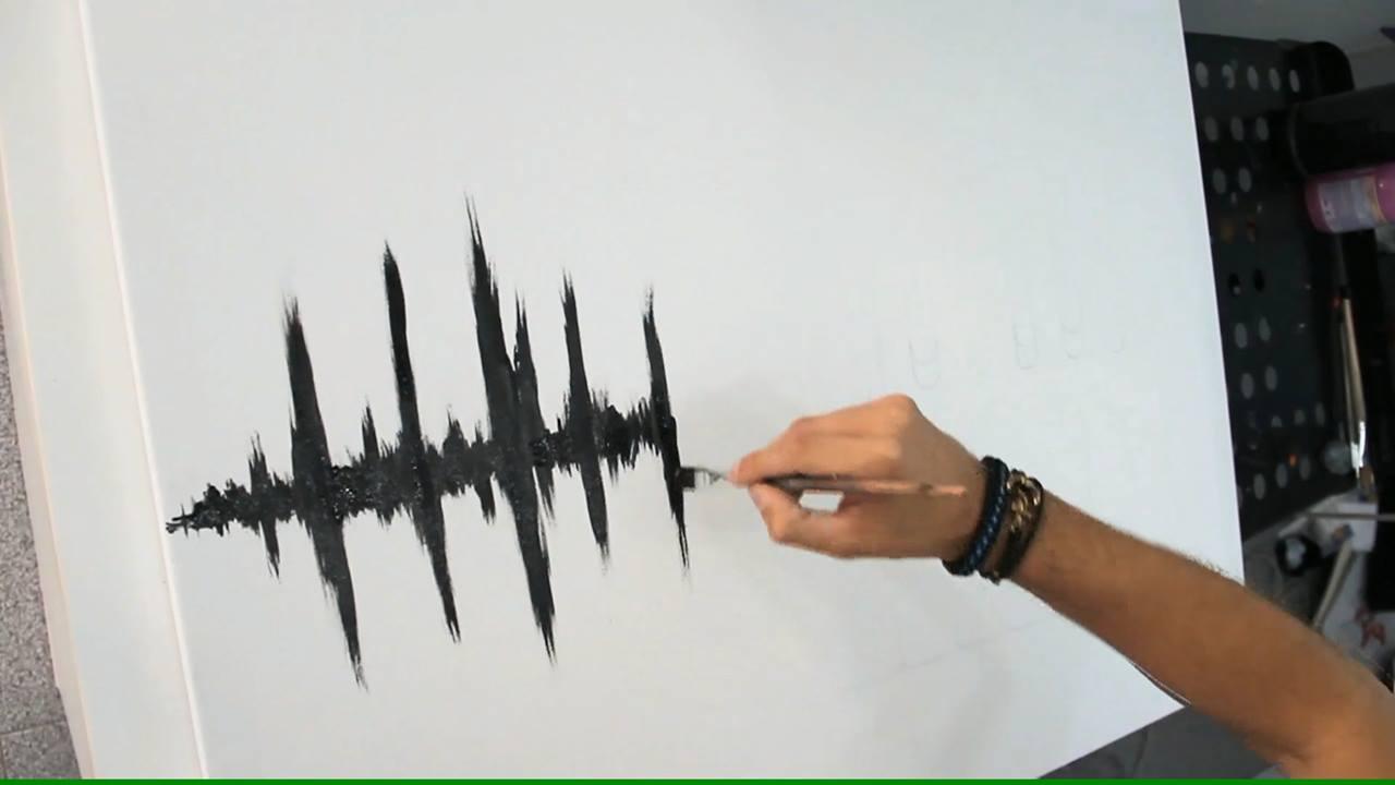 Obra de arte que representa o amor pela musica