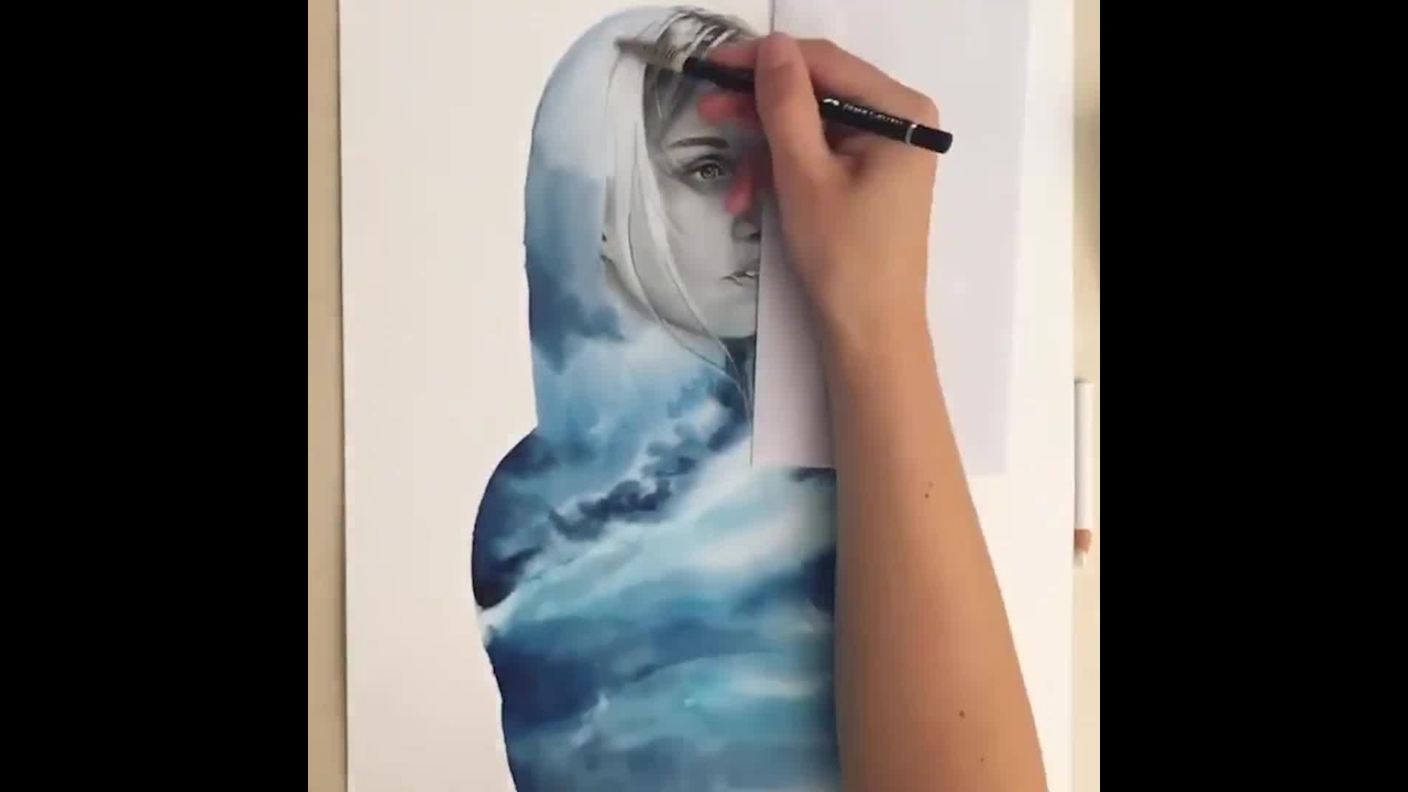 Pintura de mulher com resultado incrível e muito mais