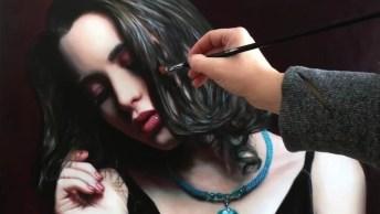 Pintura De Rosto, Veja Todo Processo Impressionante Desta Linda Pintura!