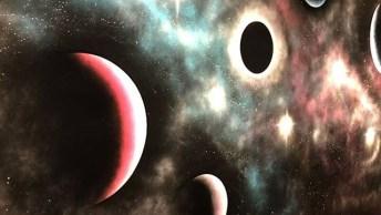 Pintura Do Universo Na Parede De Uma Casa, Veja Como Ficou Lindo!