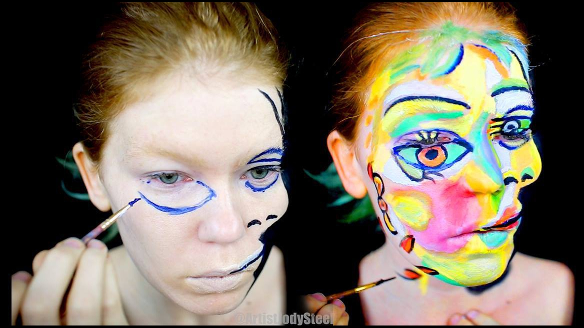 Pintura no rosto, uma obra de arte que irá te impressionar
