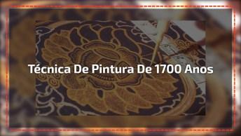 Técnica De Pintura Que Tem Mais De 1700 Anos, O Resultado É Impressionante!