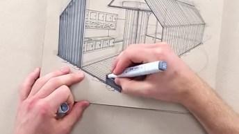 Técnica Em Desenho De Designer Impressiona, Veja O Vídeo E Descubra O Motivo!