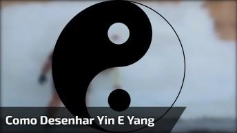 Técnica Para Desenhar Yin E Yang De Forma Perfeita, Confira!