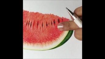 Vídeo Com Uma Seleção De Obras De Arte Com Diferentes Técnicas!
