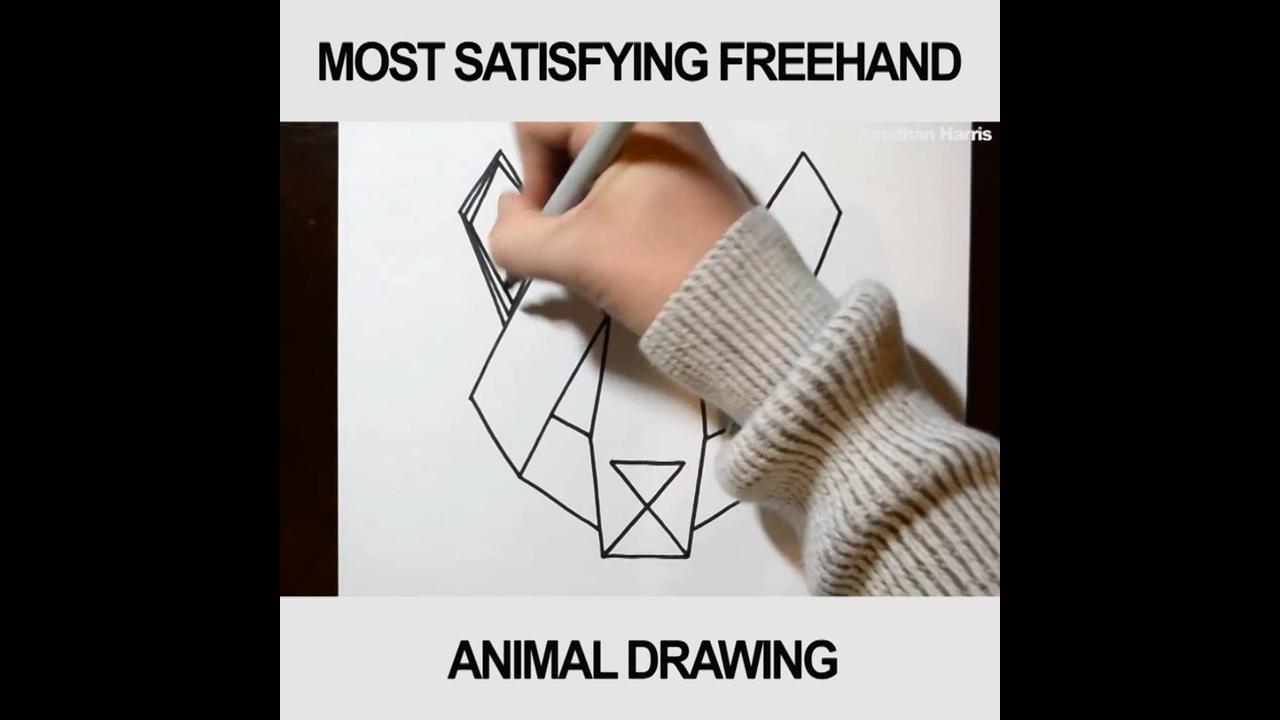 Vídeo de desenho mais gratificante que você vai ver hoje