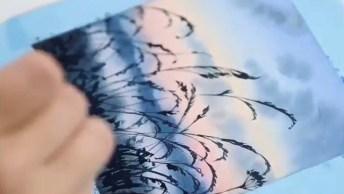 Vídeo Mostrando A Arte De Desenhar, É Simplesmente Fantástico!