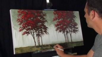 Vídeo Mostrando Obra De Arte, Olha Só Que Trabalho Perfeito!
