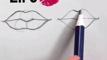 Vídeo Mostrando Técnicas De Desenhos, Como Desenhar De Diferentes Formas!