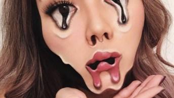 Vídeo Mostrando Trabalho Incrível Da Maquiadora Ilusionista Mimi Choi!