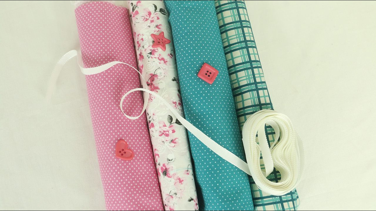 3 Ideias de artesanatos para fazer com retalhos