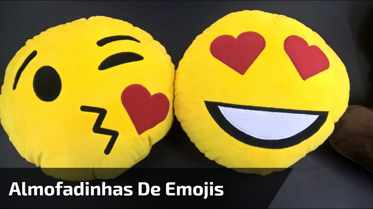 Almofadinhas de Emojis