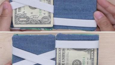 Aprenda A Fazer Carteiras Mágicas Para Guardar Seu Dinheiro!