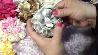 Aprenda A Fazer Flores De Panos Com Esse Vídeo De Artesanato Incrível!