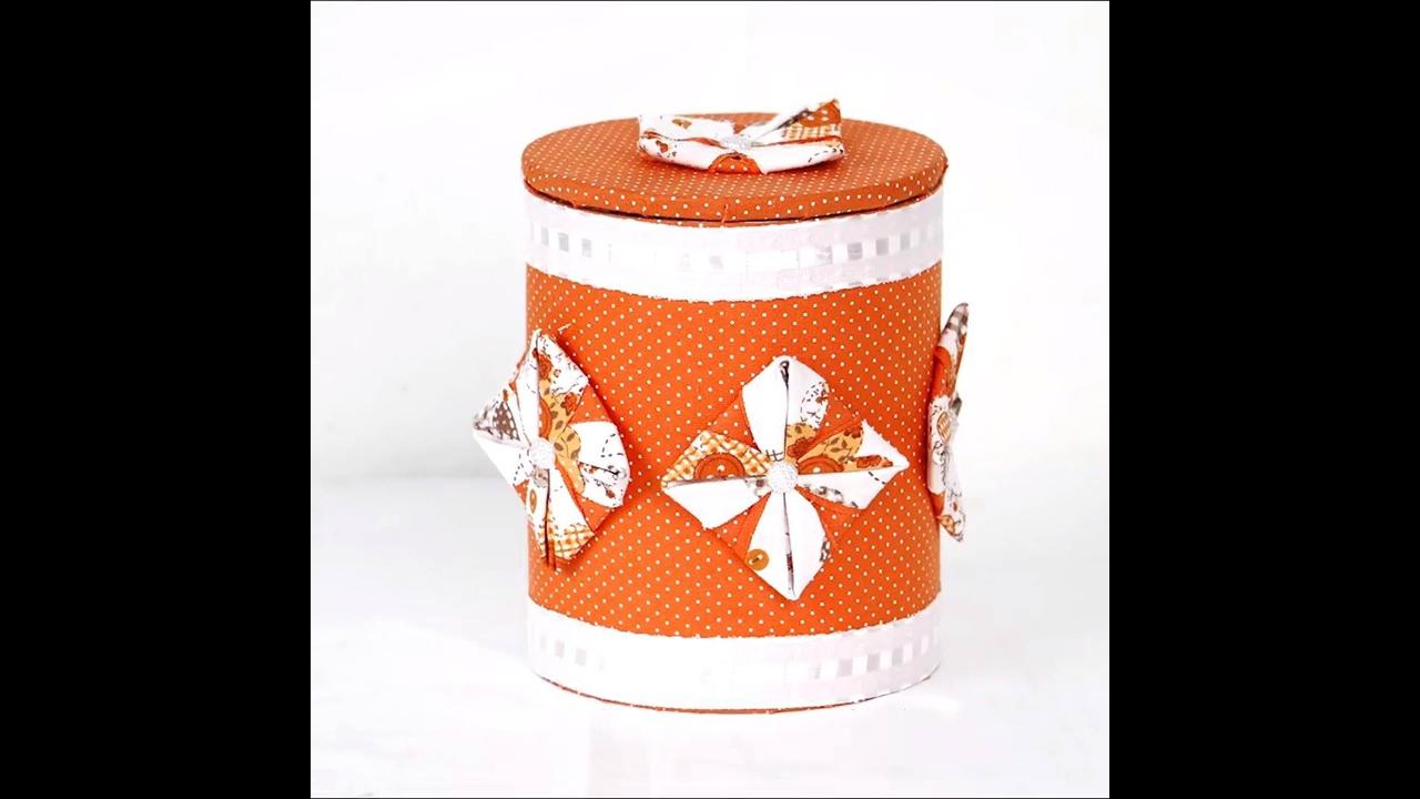 Aprenda a fazer lata decorada com um lindo trabalho artesanal