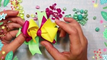 Aprenda A Fazer Pulseiras Para Vender Com Laço, Fica Um Lindo Conjunto!