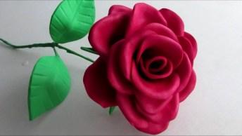 Aprenda A Fazer Rosa De Eva Passo A Passo, Fica Muito Linda!